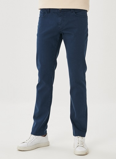 Altınyıldız Classics 360 Derece Her Yöne Esneyen Rahat Slim Fit Pantolon 4A0121100002 Lacivert